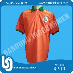 polo shirt-orange